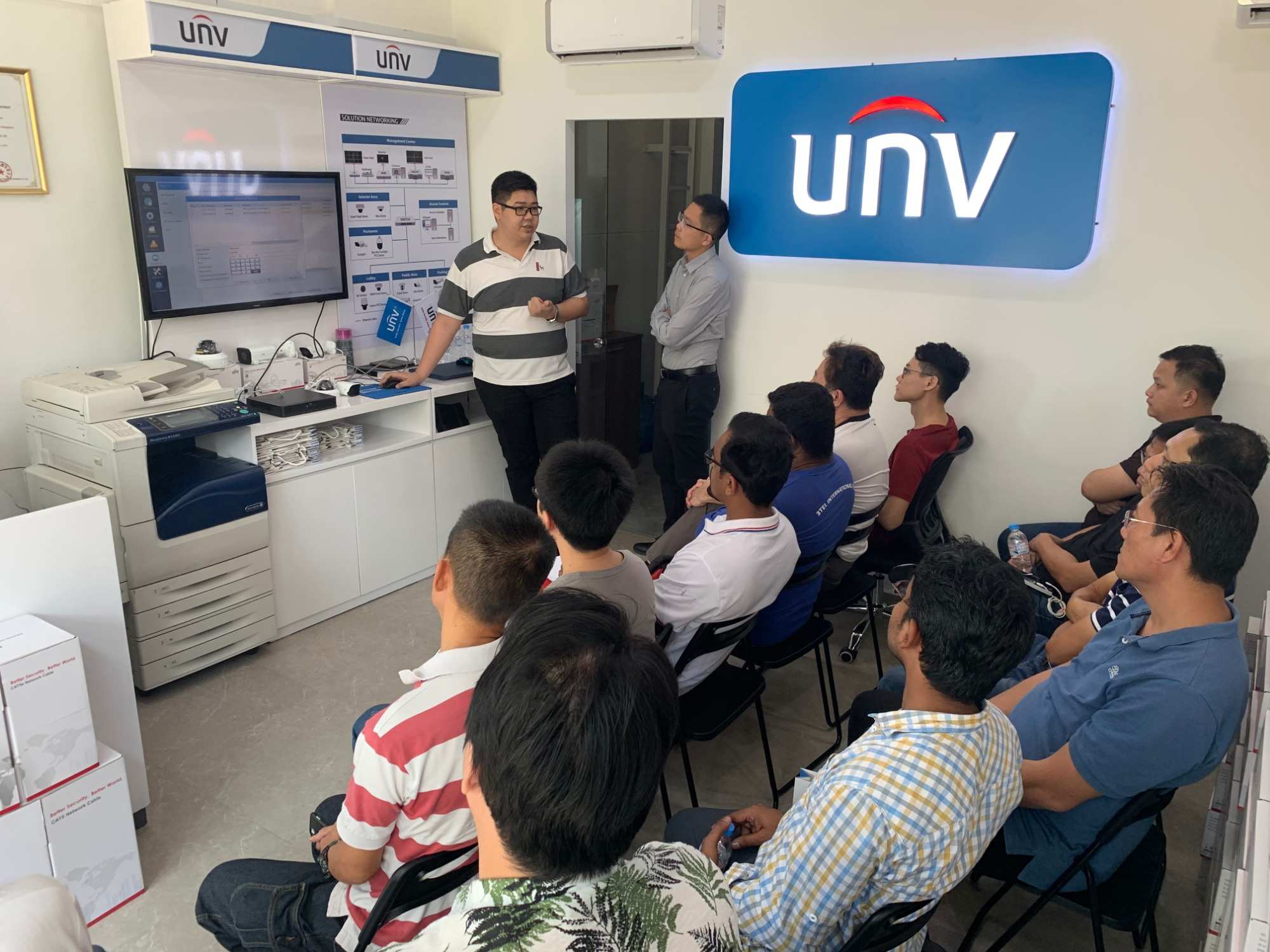 Uniview Training Session